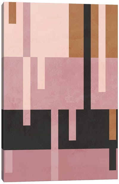 Rose Diptych II Canvas Art Print