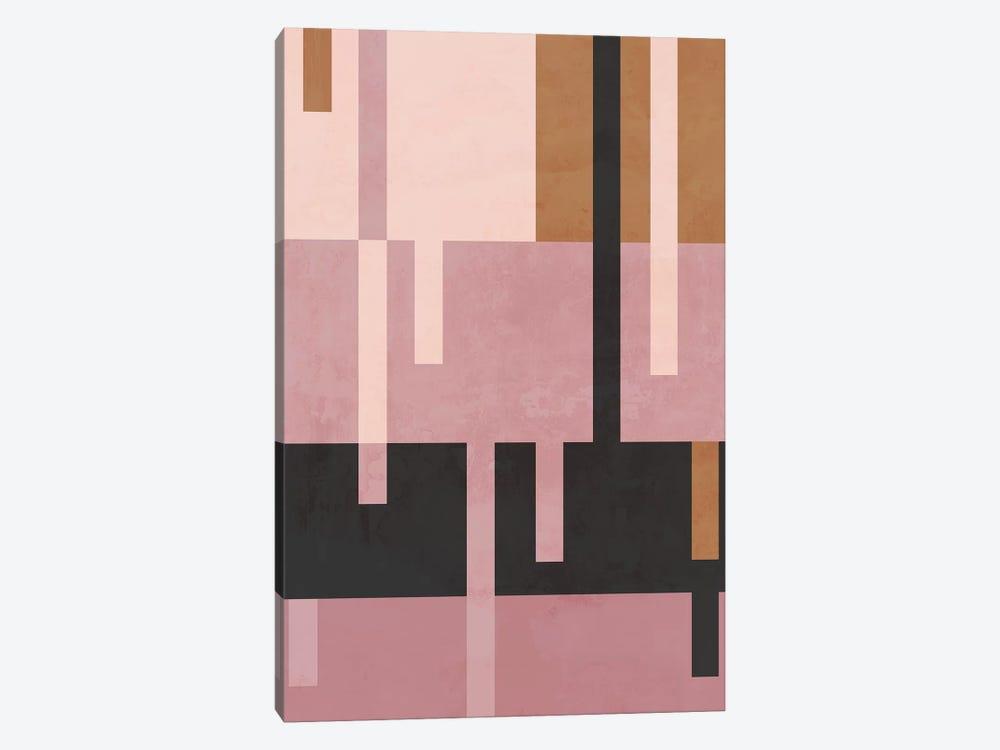 Rose Diptych II by Danilo de Alexandria 1-piece Canvas Print