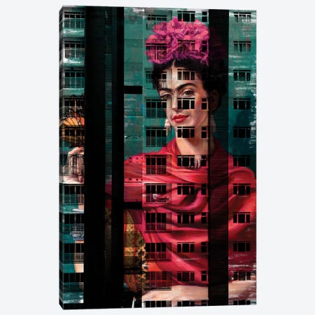 Street Art I Canvas Print #DLX144} by Danilo de Alexandria Canvas Art