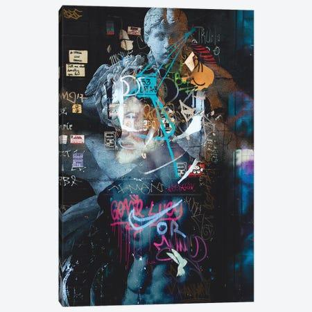 Street Art II Canvas Print #DLX145} by Danilo de Alexandria Canvas Artwork
