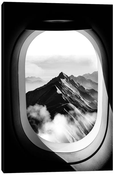 View Airplane Canvas Art Print