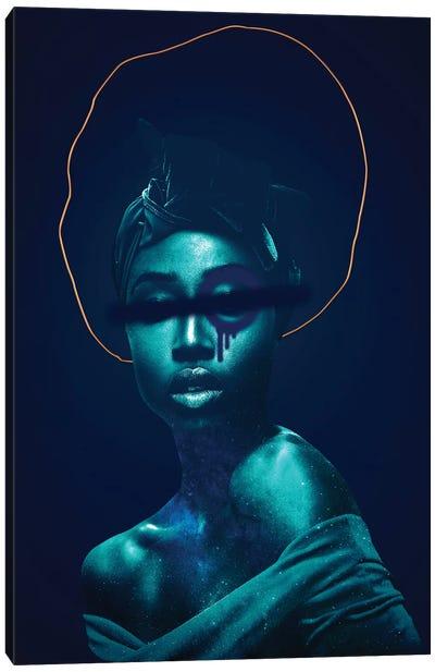 Woman Divinity Forbidden Canvas Art Print