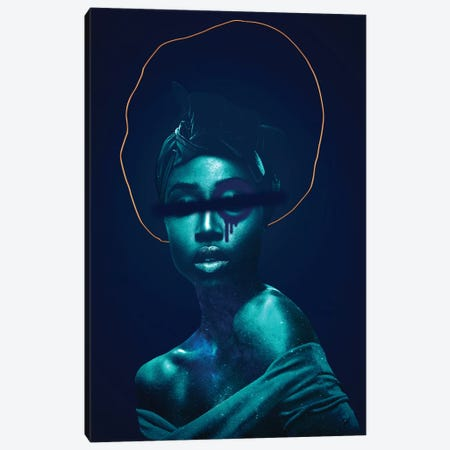 Woman Divinity Forbidden Canvas Print #DLX157} by Danilo de Alexandria Canvas Art Print