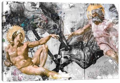 The Creation   Horizontal Canvas Art Print