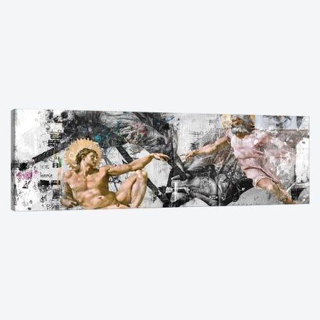 The Creation   Widescreen Canvas Print #DLX167} by Danilo de Alexandria Canvas Wall Art