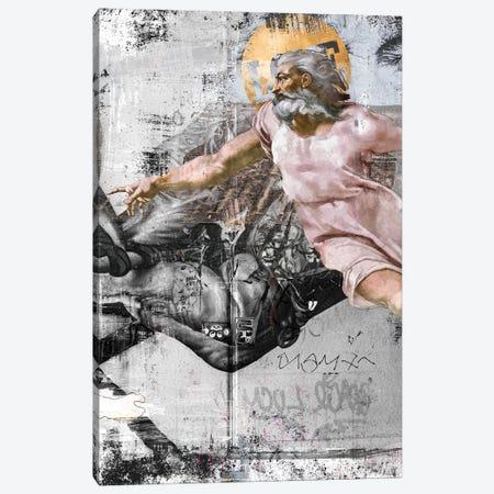 The Creation   Side B Canvas Print #DLX168} by Danilo de Alexandria Art Print