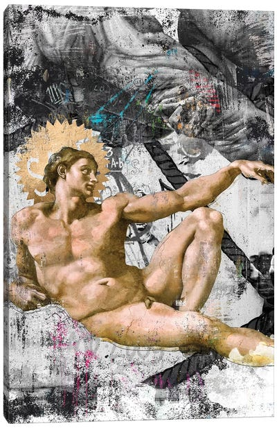 The Creation   Side A Canvas Art Print