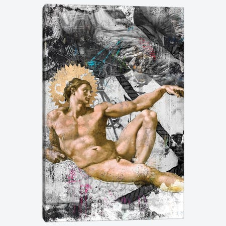 The Creation   Side A Canvas Print #DLX169} by Danilo de Alexandria Art Print
