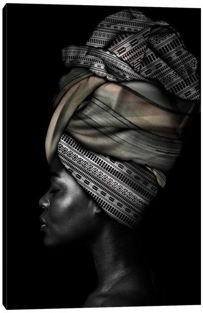 African Woman Canvas Art Print
