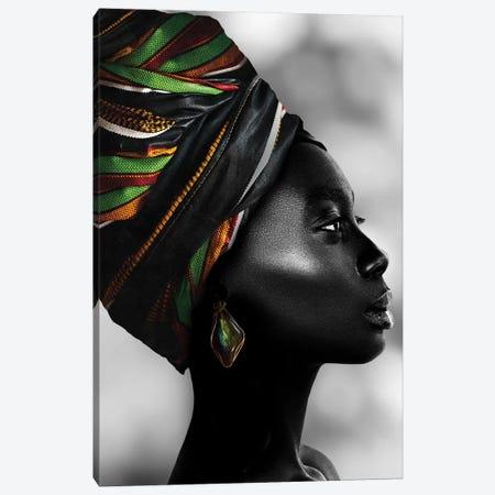 African Luxury 3-Piece Canvas #DLX181} by Danilo de Alexandria Canvas Art Print