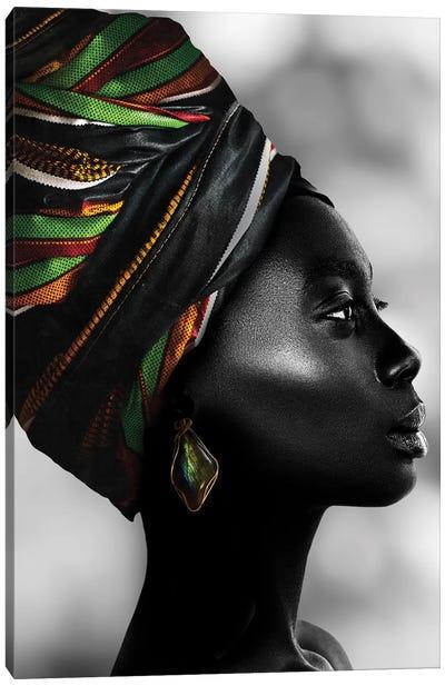 African Luxury Canvas Art Print