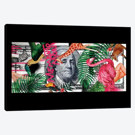 Memento Mori | Money Canvas Print #DLX190} by Danilo de Alexandria Canvas Wall Art