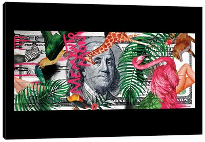 Memento Mori | Money Canvas Art Print