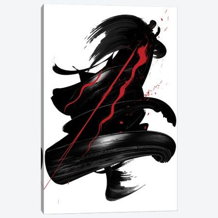 Red | Ink I Canvas Print #DLX197} by Danilo de Alexandria Art Print