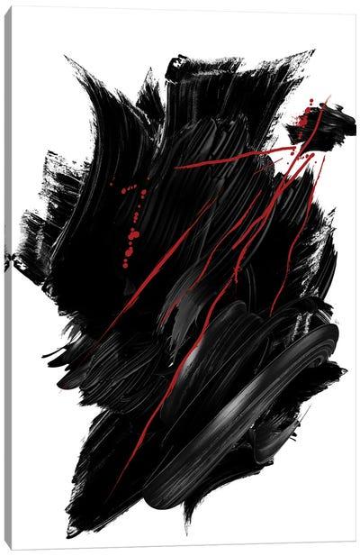 Red   Ink II Canvas Art Print