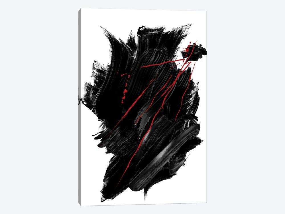 Red | Ink II by Danilo de Alexandria 1-piece Canvas Art