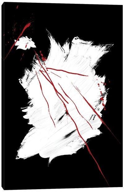 Red   Ink IV Canvas Art Print