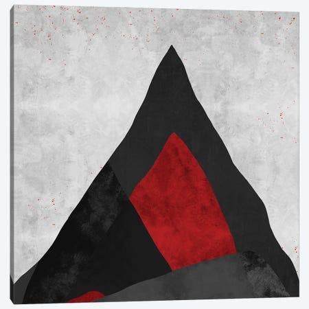 Red | Geometric Canvas Print #DLX201} by Danilo de Alexandria Canvas Wall Art
