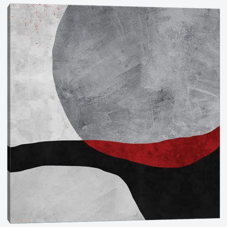Red | Sunset Canvas Print #DLX202} by Danilo de Alexandria Canvas Art