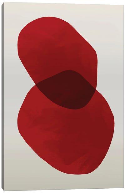 Red   Geo I Canvas Art Print