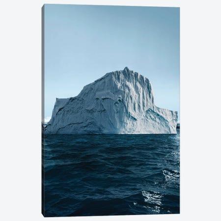 Iceberg | Photo I Canvas Print #DLX211} by Danilo de Alexandria Canvas Print