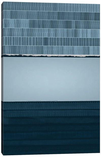 Iceberg | Abstract I Canvas Art Print