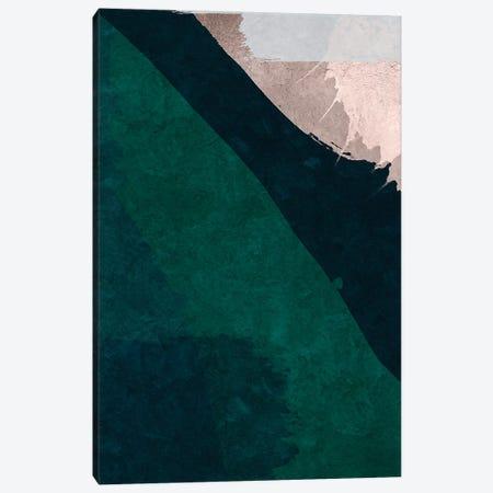Brush Diptych Green I Canvas Print #DLX21} by Danilo de Alexandria Canvas Print