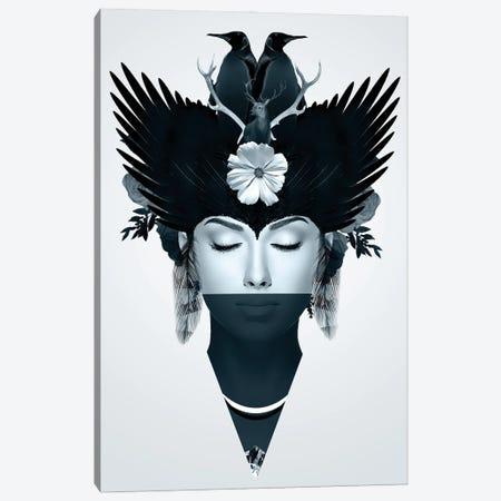 Iceberg | Face Women Canvas Print #DLX220} by Danilo de Alexandria Canvas Art