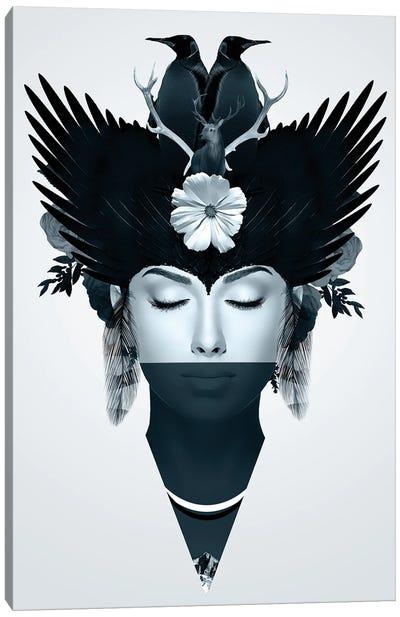 Iceberg | Face Women Canvas Art Print