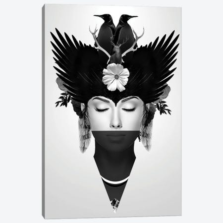 Iceberg | Face Women II Canvas Print #DLX221} by Danilo de Alexandria Canvas Wall Art