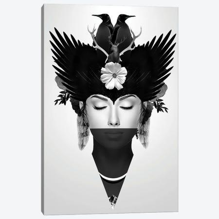 Iceberg   Face Women II Canvas Print #DLX221} by Danilo de Alexandria Canvas Wall Art