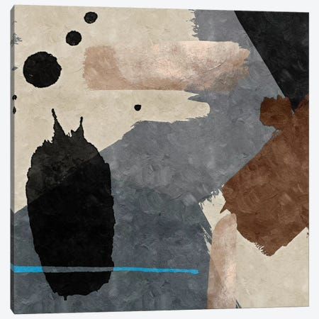 Brush Diptych I Canvas Print #DLX23} by Danilo de Alexandria Canvas Art Print