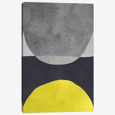 Yellow And Grey VI Canvas Print #DLX286} by Danilo de Alexandria Canvas Art Print