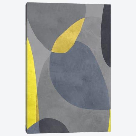 Yellow And Grey VIII Canvas Print #DLX288} by Danilo de Alexandria Canvas Art