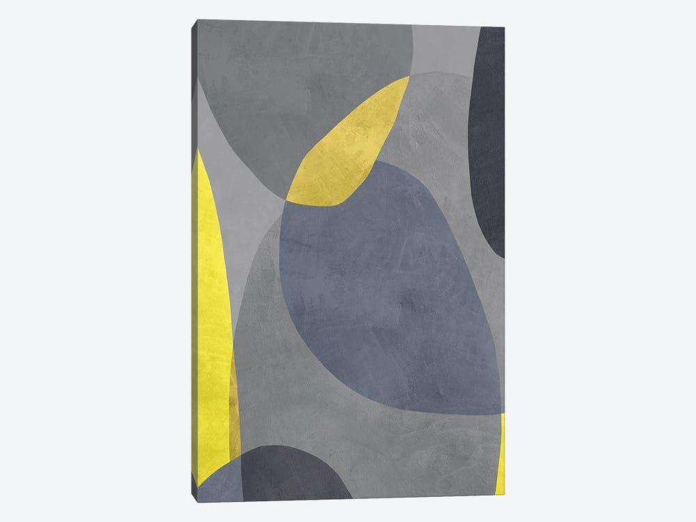 Yellow And Grey VIII by Danilo de Alexandria 1-piece Canvas Print