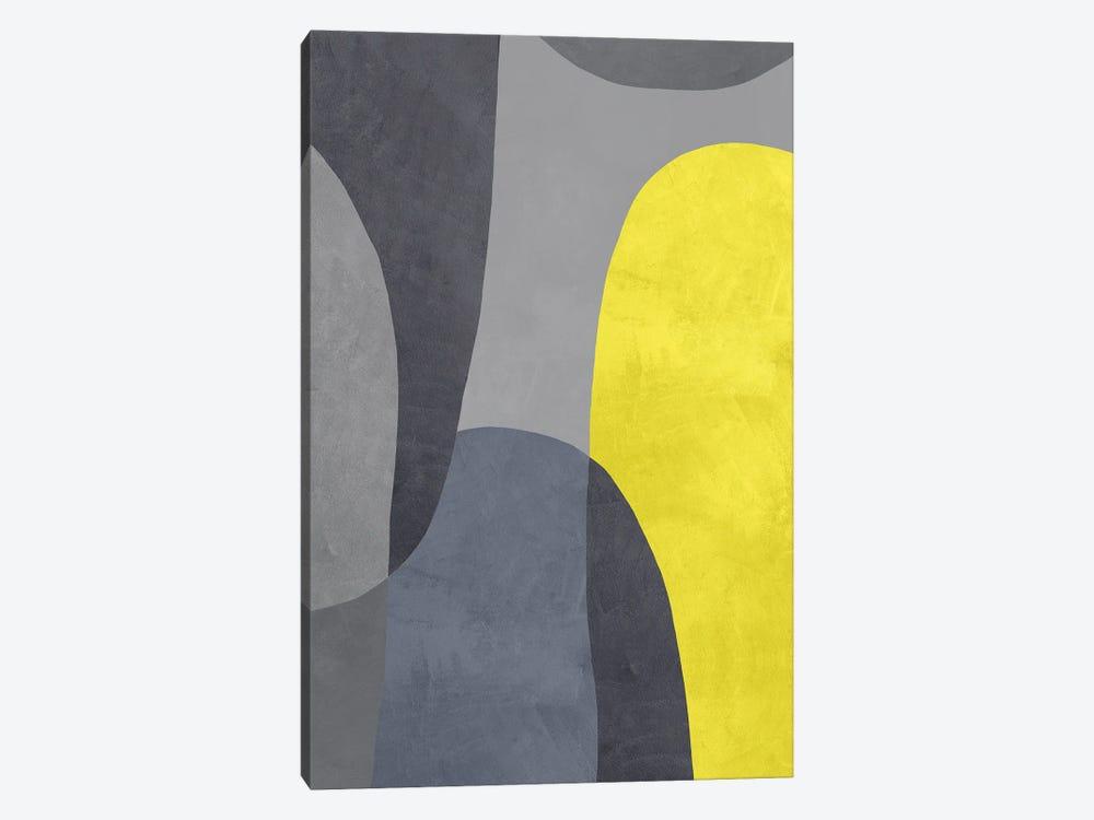 Yellow And Grey IX by Danilo de Alexandria 1-piece Canvas Wall Art