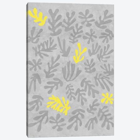 Yellow And Grey XII Canvas Print #DLX292} by Danilo de Alexandria Art Print