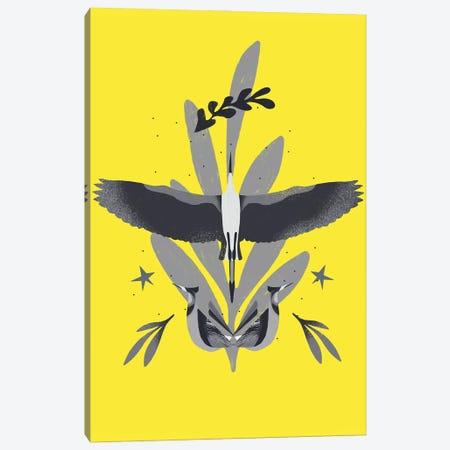 Yellow And Grey XIX Canvas Print #DLX299} by Danilo de Alexandria Canvas Art Print