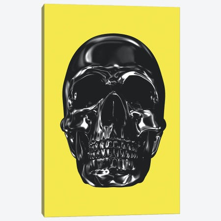 Yellow And Grey XX Canvas Print #DLX300} by Danilo de Alexandria Art Print
