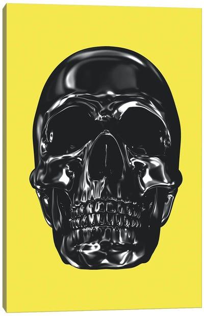 Yellow And Grey XX Canvas Art Print