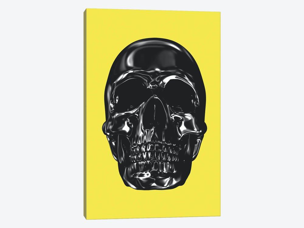 Yellow And Grey XX by Danilo de Alexandria 1-piece Canvas Art