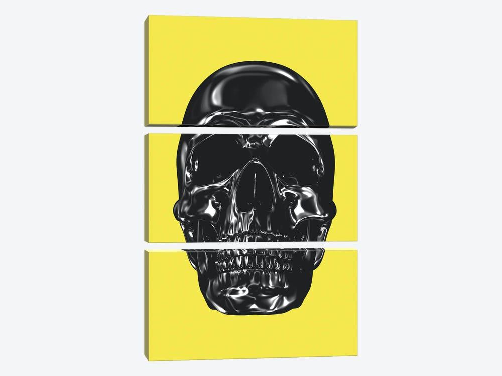 Yellow And Grey XX by Danilo de Alexandria 3-piece Canvas Artwork