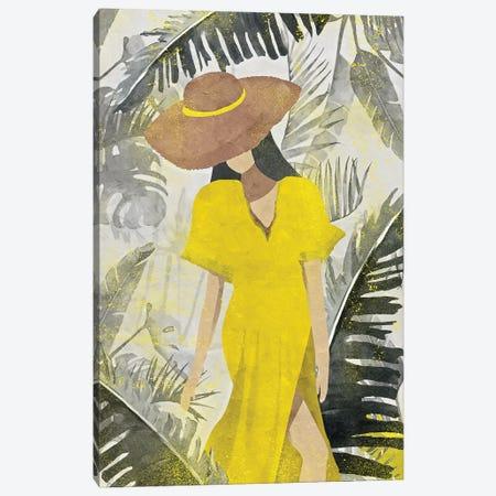 Yellow And Grey XXII Canvas Print #DLX302} by Danilo de Alexandria Canvas Print