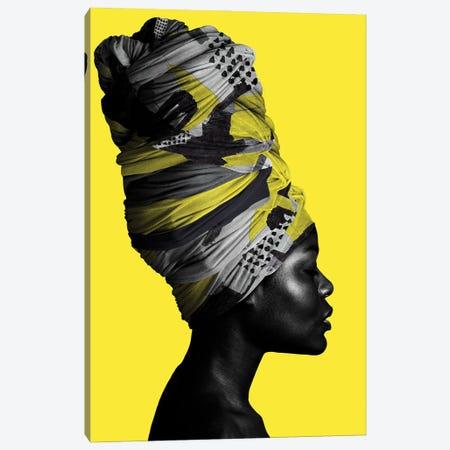 Yellow And Grey XXIV Canvas Print #DLX304} by Danilo de Alexandria Canvas Artwork