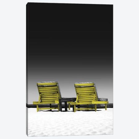 Yellow And Grey XXVI Canvas Print #DLX306} by Danilo de Alexandria Canvas Art