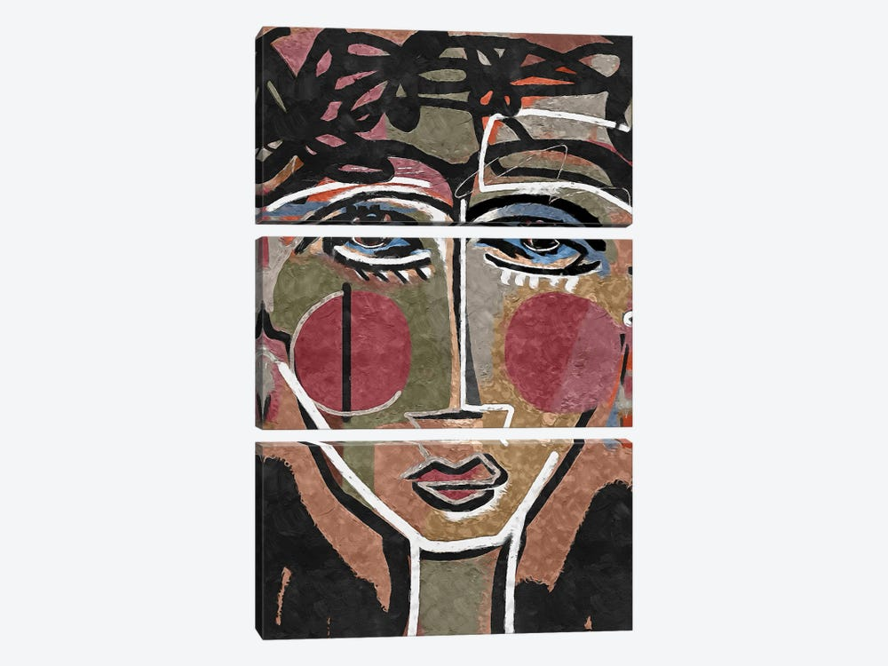 Terracotta Dream I by Danilo de Alexandria 3-piece Canvas Artwork