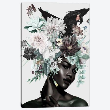 Woman And Flowers I Canvas Print #DLX331} by Danilo de Alexandria Canvas Art