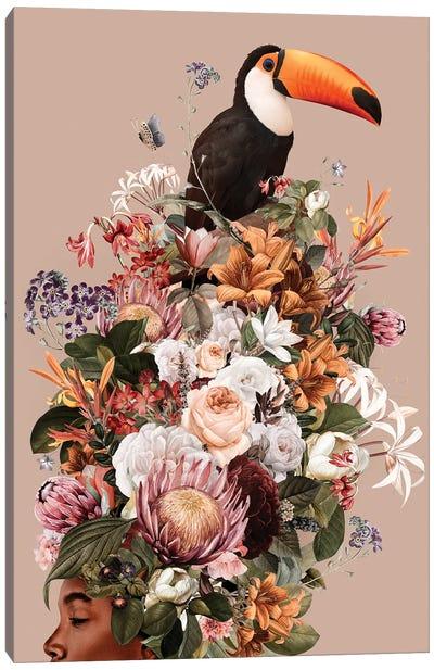 Floral Woman I Canvas Art Print
