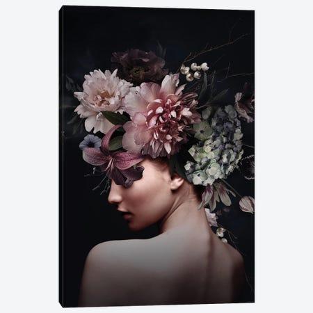 Floral Woman V Canvas Print #DLX343} by Danilo de Alexandria Canvas Print