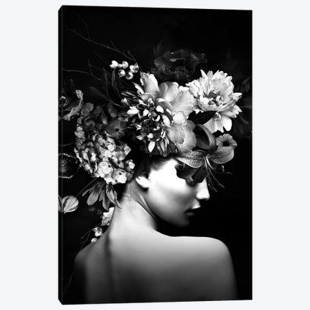 Floral Woman IX Canvas Print #DLX346} by Danilo de Alexandria Canvas Artwork